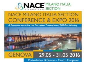 NACE Milano - Conference & Expo 2016 - Genoa, May 29-31 2016, Booth 2