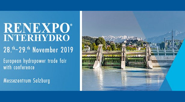 11th RENEXPO INTERHYDRO at Messezentrum Salzburg