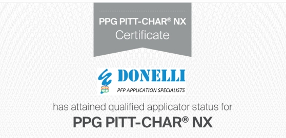 Applicatore qualificato PPG per Pitt-Char NX